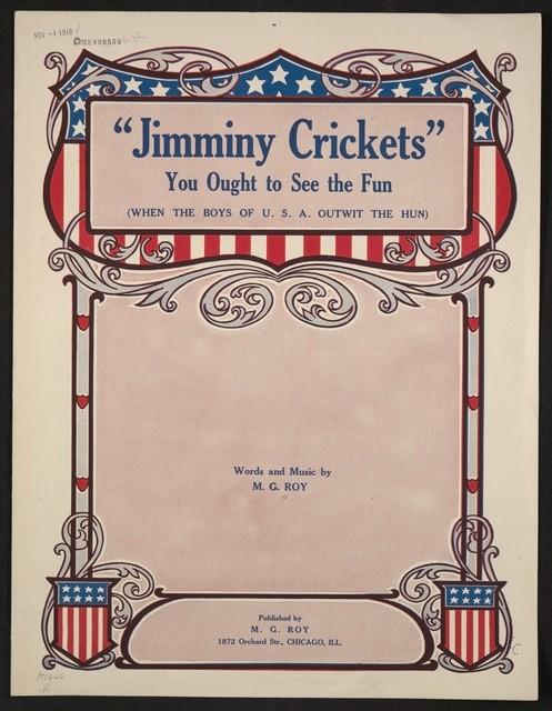 Jimminy crickets