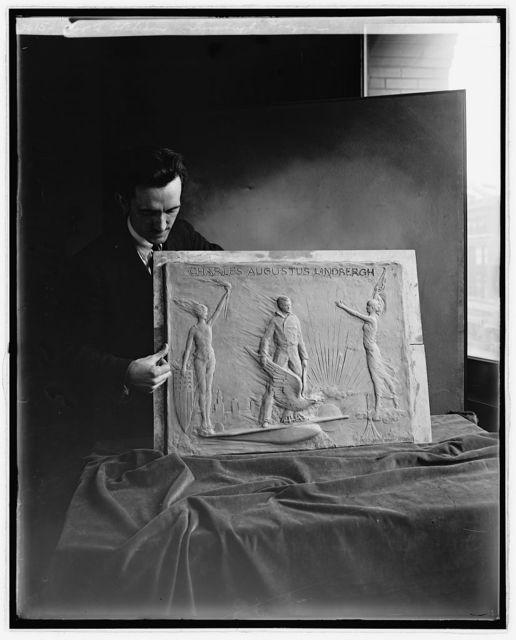 Jos. A. Atchison, Lindburgh plaque