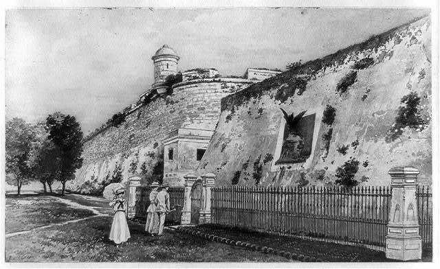 [Laurel Ditch, La Cabaña Fortress, Havana, Cuba]