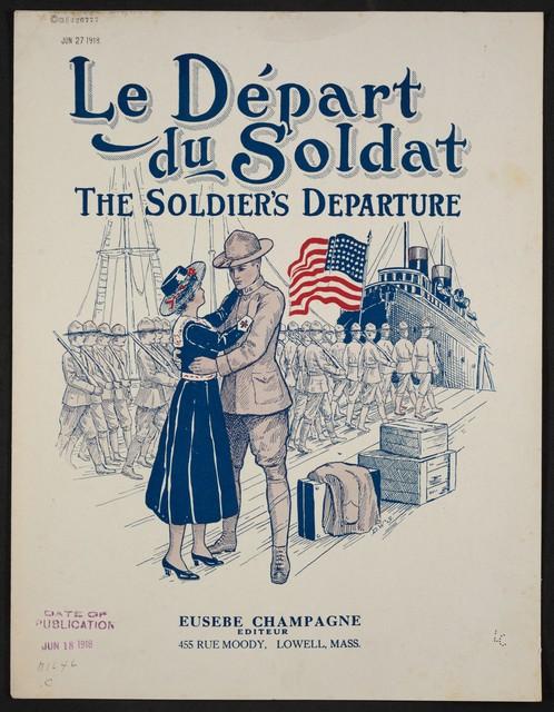 Le départ du soldat = The soldier's departure