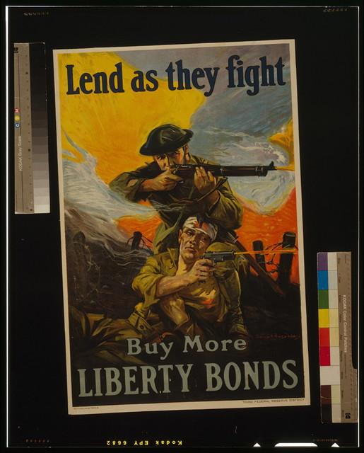 Lend as they fight - Buy more Liberty Bonds / Sidney H. Riesenberg.