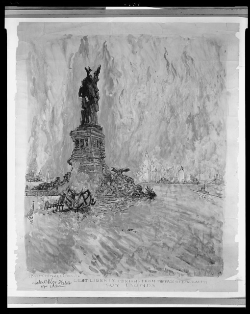 Lest liberty perish from the face of the earth - buy bonds / Joseph Pennell, del. & c.
