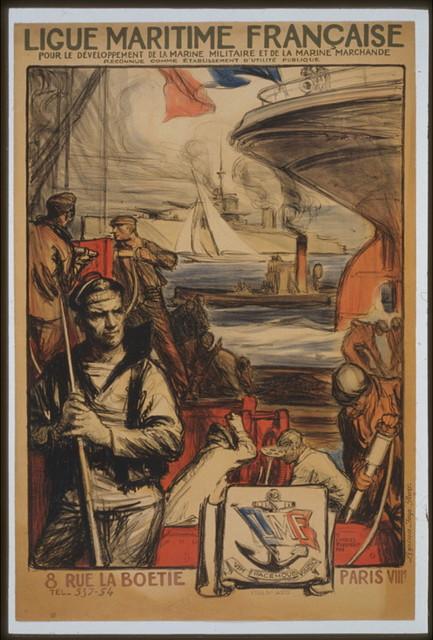 Ligue Maritime française pour le développement de la marine militaire et de la marine marchande reconnue comme établissement d'utilité publique