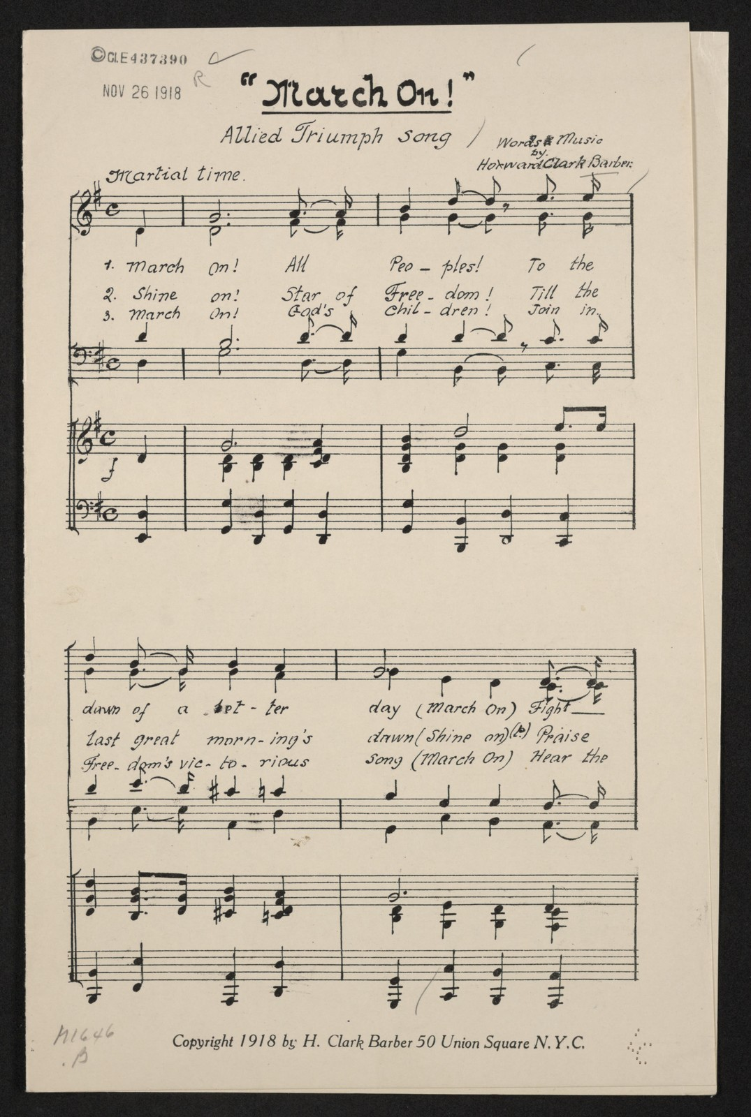 Dawning Of The Day Bagpipe Sheet Music