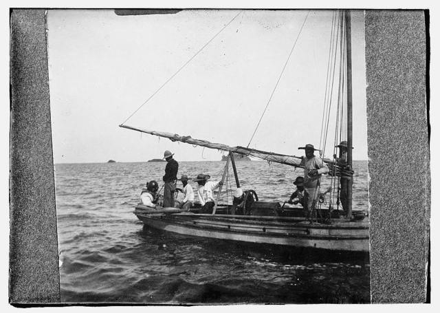 Men on boat