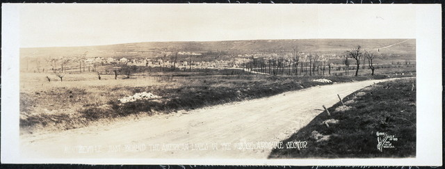 Montzeville, just behind the American lines in the Meuse-Argonne sector