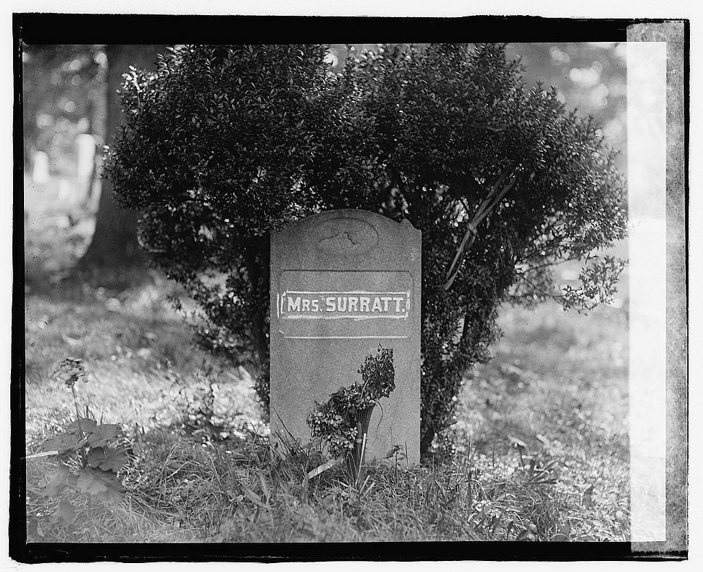 Mrs. Surratt's grave