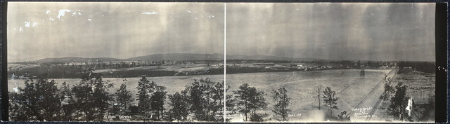North-West, no. 1, from Stockade Tower, Camp Sevier, S.C.
