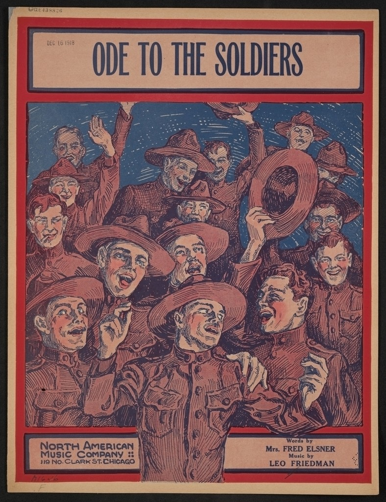 Ode to the soldiers