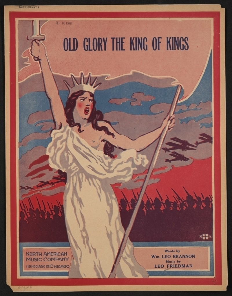 Old glory the king of kings