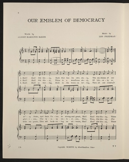 Our emblem of democracy