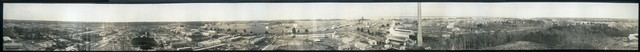 [Panorama showing village, power house, shell loading lines and police barracks, Penniman, Va.]