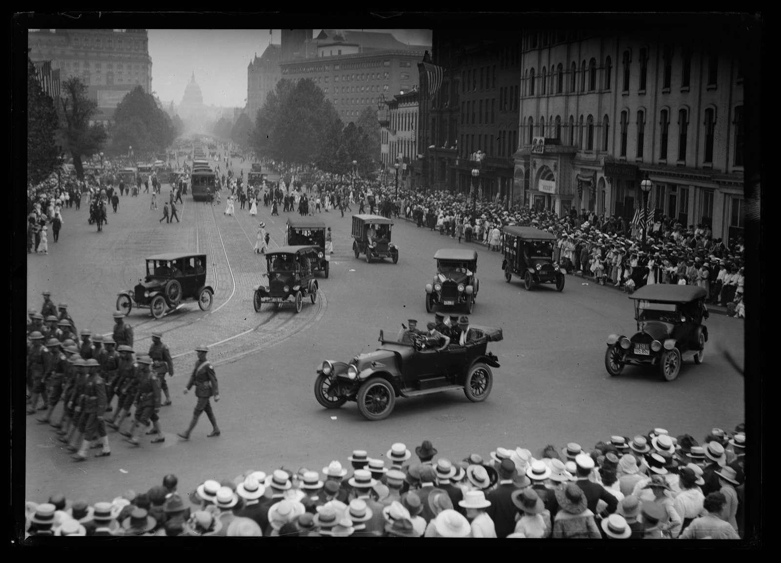 Parade, Pennsylvania Ave, Washington, D.C.