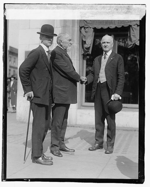 Pat Crowe, Earl Dudding & Ex Sen. Scott