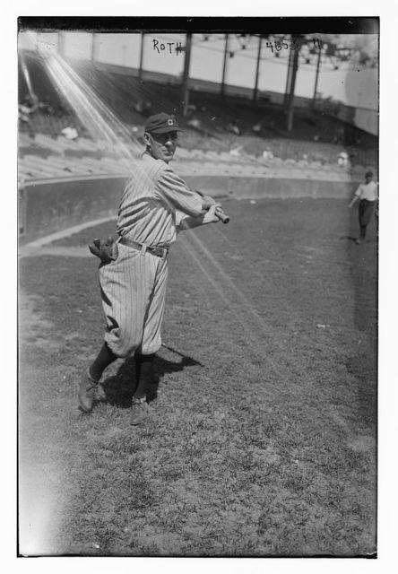 "[Robert ""Braggo"" Roth, Cleveland AL (baseball)]"