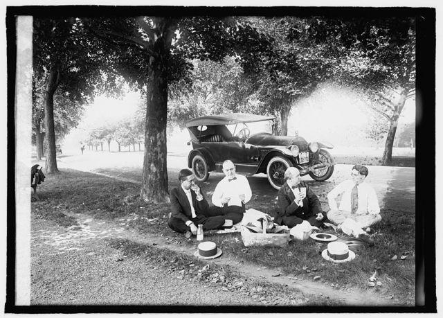 Ron D. Haynes roadside luncheon, 8/13/[...]