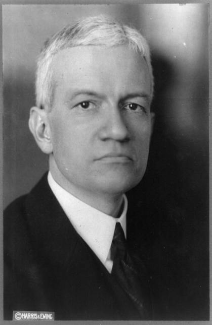 [Russell Cornell Leffingwell, Assistant Secretary of the Treasury, head-and-shoulders portrait, facing slightly right]