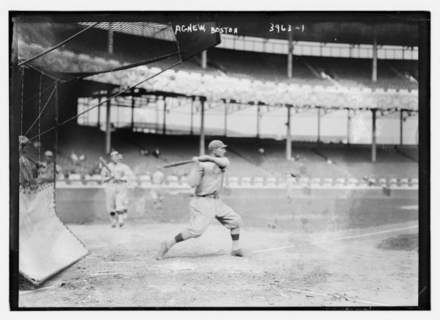 [Sam Agnew, Boston AL (baseball)]