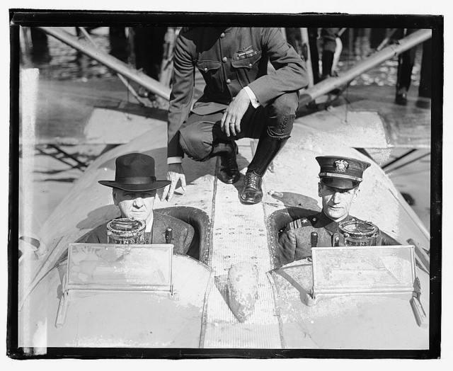 [Secty. Daniels and Commander Albert C. Read]