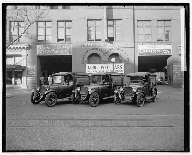 Semmes Motor Co. Cross truck