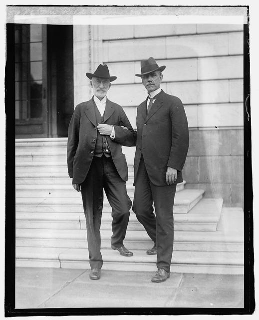Sen. Reed Smoot & Heber J. Grant, Pres. of Mormon Church