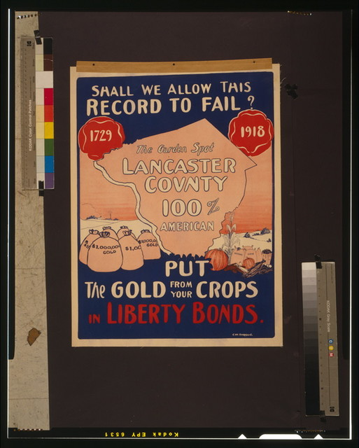 Shall we allow this record to fail? Put the gold from your crops in Liberty Bonds / C.W. Drepperd.