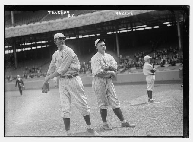 [Slim Sallee (left) & Jeff Tesreau (right), New York NL (baseball)]