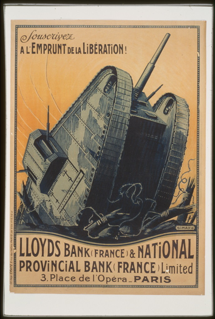 Souscrivez a l'Emprunt de la Liboeration! Lloyds Bank (France) and National Provincial Bank (France) Limited