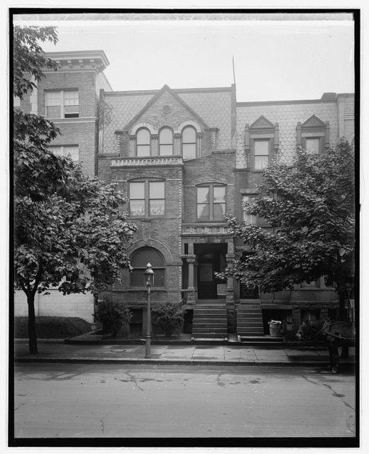 Standard Eng. Co. 2224 N St., N.W., [Washington, D.C.]