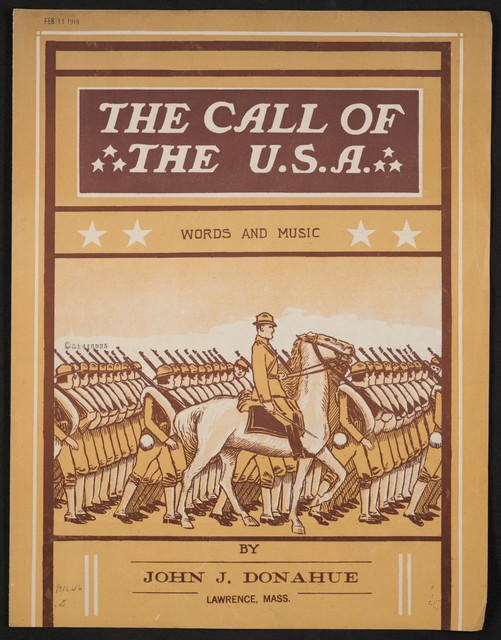 The  call of the U. S. A