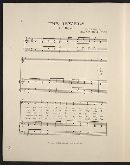 The  jewels = La bijou
