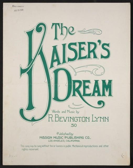 The  Kaiser's dream