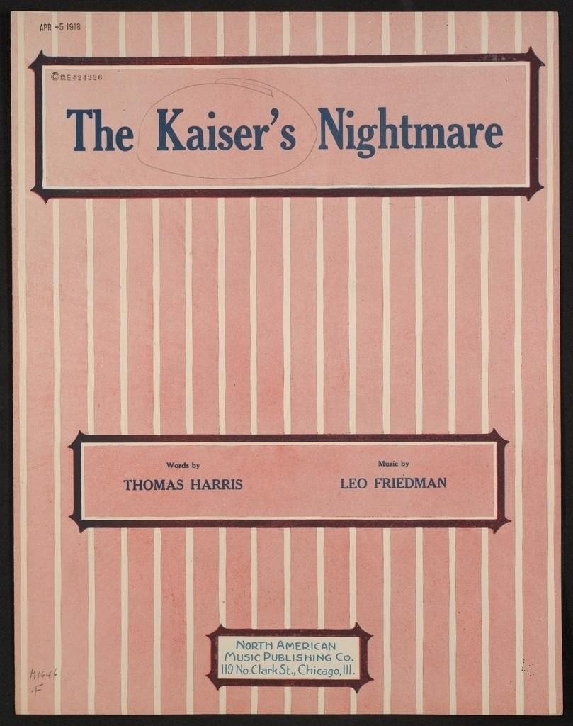 The  Kaiser's nightmare