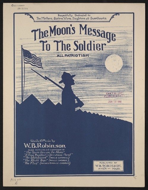 The  moon's message to the soldier