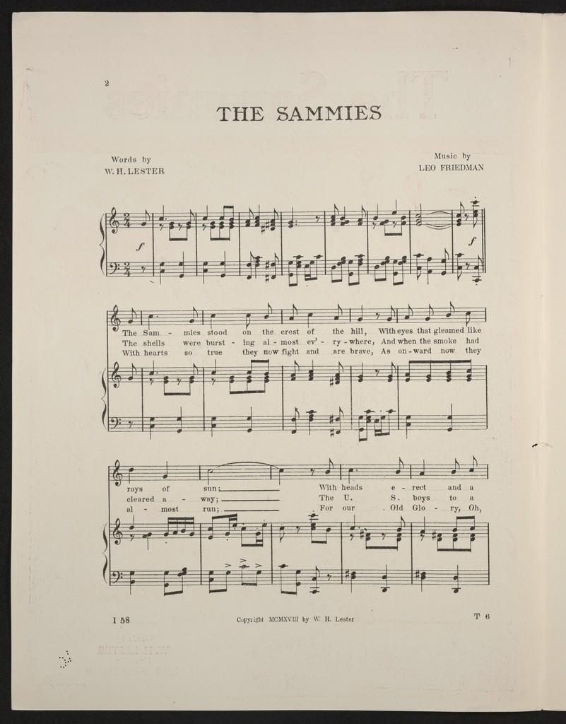 The  sammies