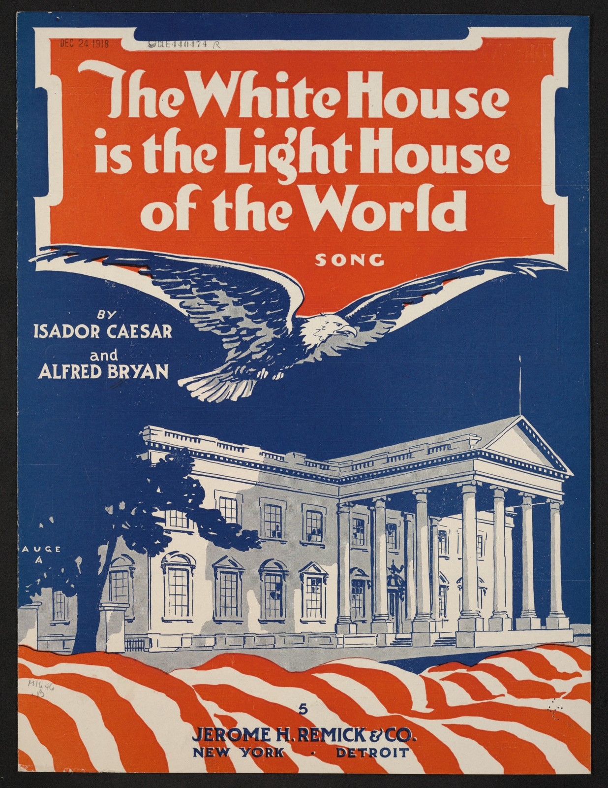 The  white house is the light house of the world