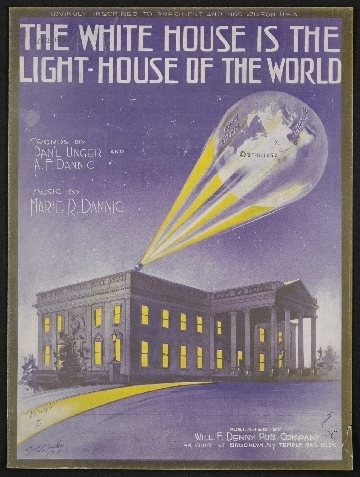 The  White House is the light-house of the world