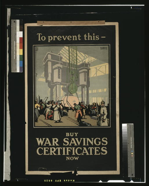 To prevent this - buy war savings certificates now / F. Gregory Brown ; J.W. Ltd.