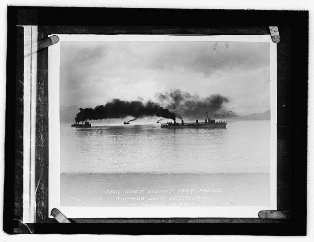 Torpedo Boat Destroyers at Seward, Alaska