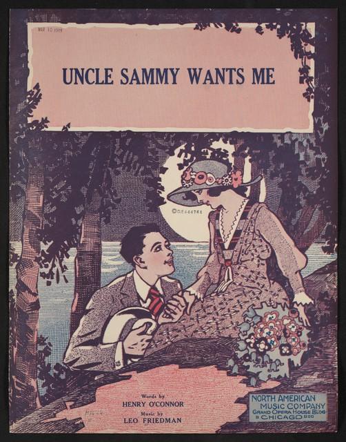 Uncle Sammy wants me