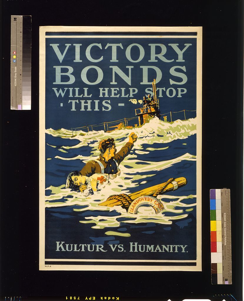 Victory Bonds will help stop this. Kulture vs. humanity