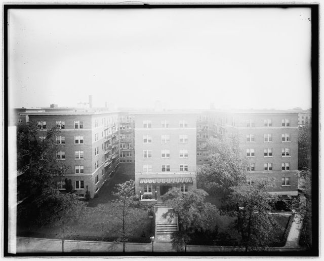 Wardman Courts, [Washington, D.C.], South