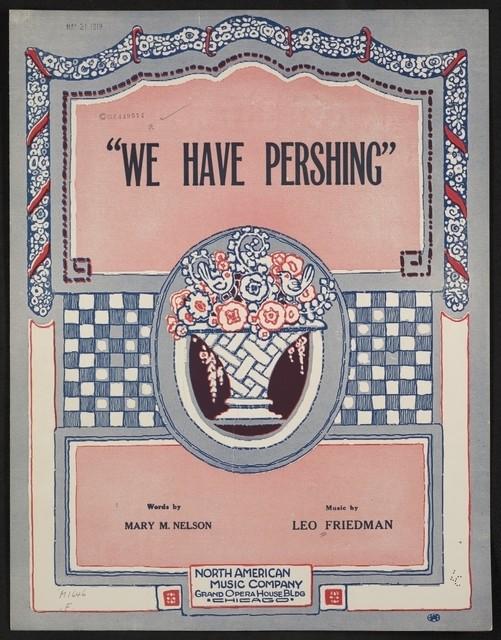 We have Pershing