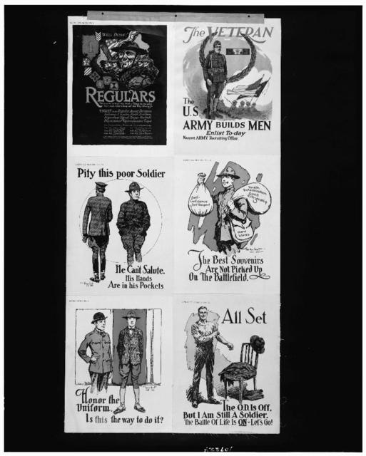 Well done! Regulars. They were in it at the first - there to the last and with Old Glory all the way through / John W. Sheeres, War Department.