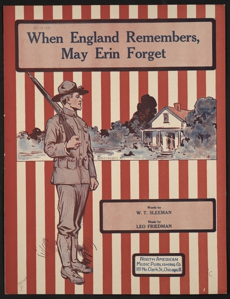 When England remembers, may Erin forget