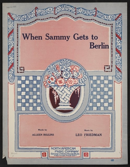 When Sammy gets to Berlin