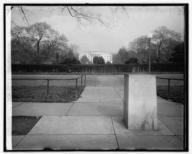 White House [Washington, D.C.] & Zero Mile Stone