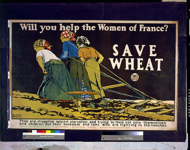 Will you help the women of France? Save wheat / Edward Penfield.