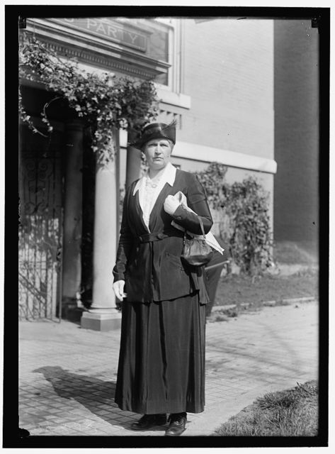WOMAN SUFFRAGE HEADQUARTERS, NATIONAL WOMEN'S PARTY. MRS. COLVIN