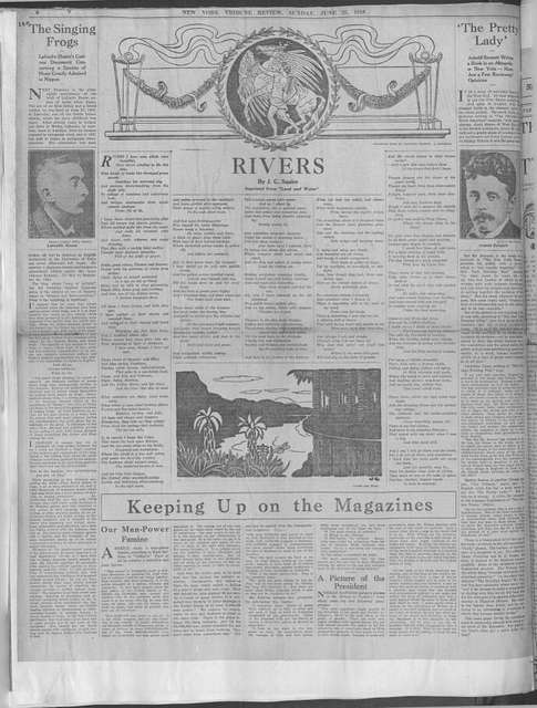World War history : daily records and comments as appeared in American and foreign newspapers, 1914-1926 (New York), June 20, 1918, (1918 June 20-23)